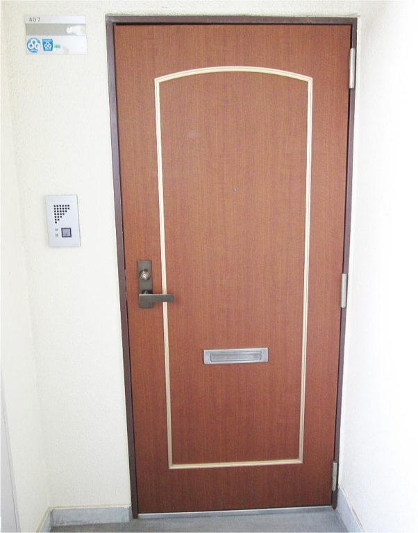 マンション玄関ドア格安リフォーム施工後