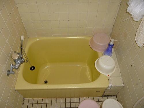 ホームリメイク北熊本2浴室タイルリフォーム施工前