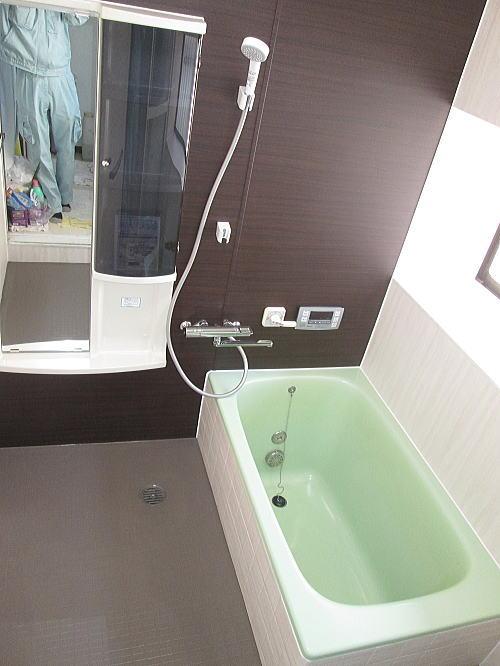 浴室リフォーム福岡県筑紫野市N様邸施行後1