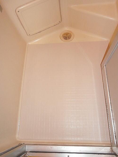 浴室床リフォーム長崎施工後