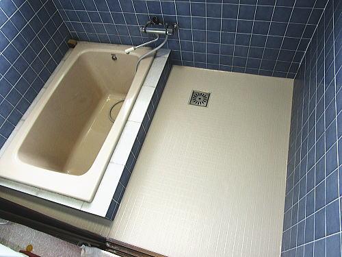 浴室床リフォーム戸建て施工後 大牟田市