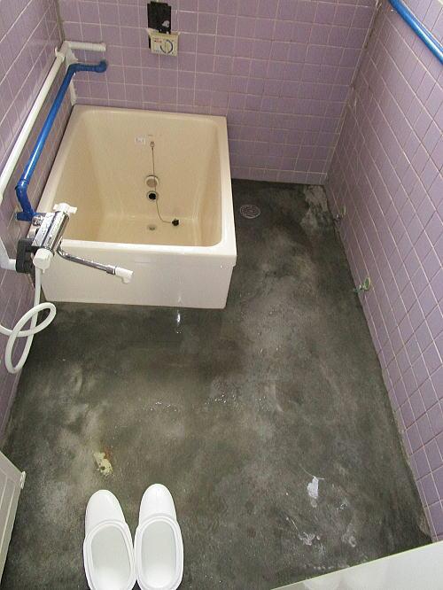 浴室リフォームS様邸施工中大牟田市