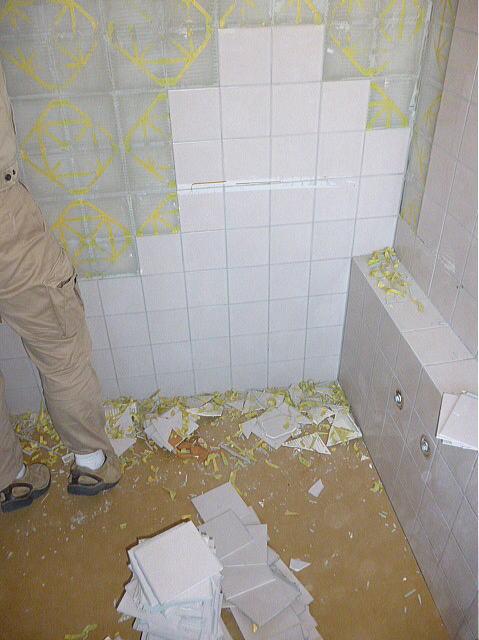 浴室リフォーム熊本市M様邸施行中2