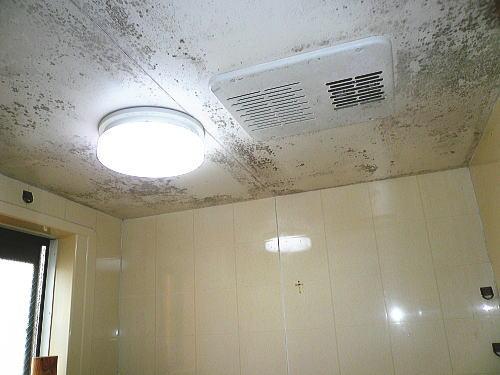 浴室天井壁リフォーム施行前1北九州市