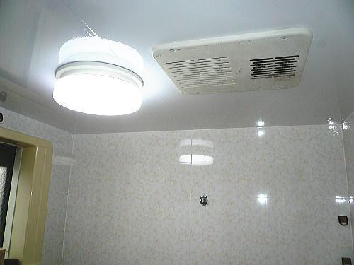 浴室天井壁リフォーム施行後1北九州市
