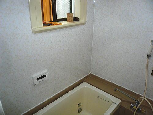 浴室天井壁リフォーム施行後2北九州市