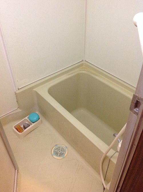 浴室リフォームユニットバス北海道施行前