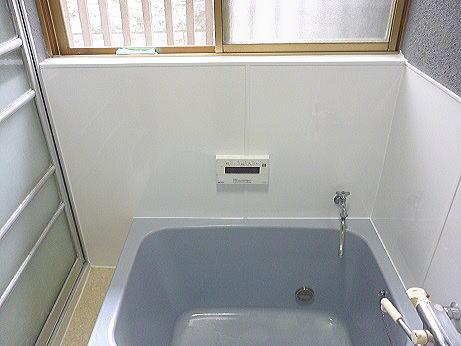 浴室リフォーム壁タイル熊本市北区N様邸施工後1