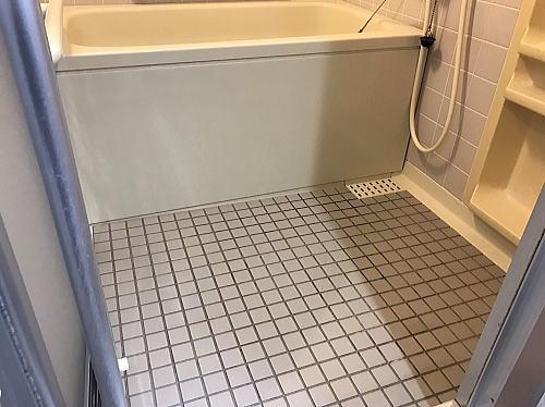 ハートリビングサポート浴室リフォーム大阪市施工前3