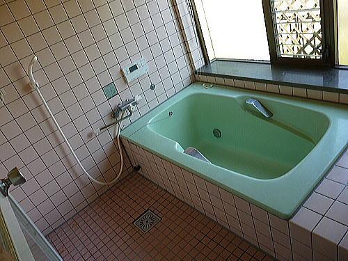浴室リフォーム熊本県上益城郡N様邸施行前1