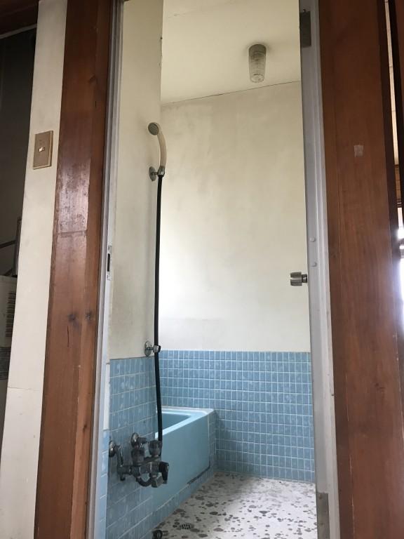 タイル+モルタル浴室のリメイク