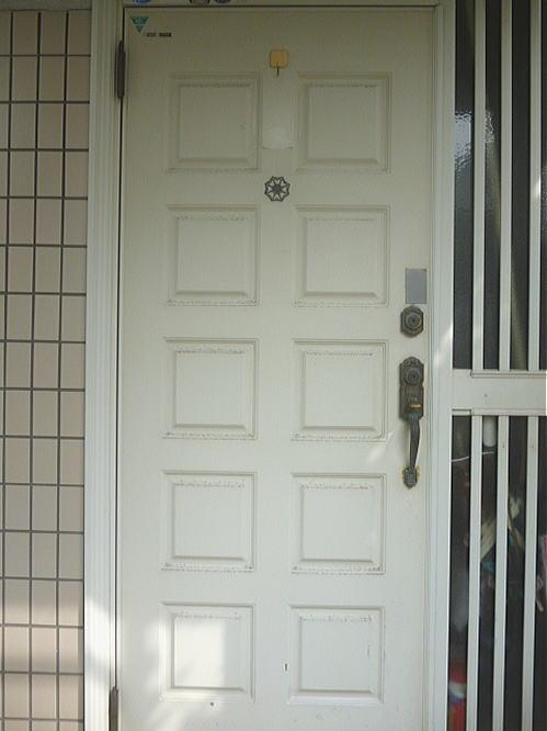 熊本市I様邸玄関ドア施行前1