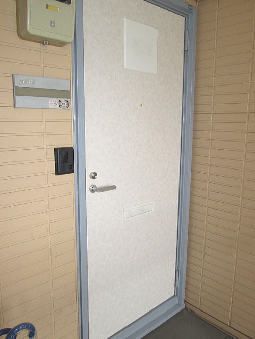 大野城市玄関ドア施工後