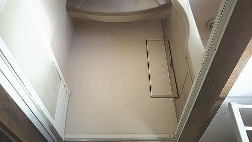 長崎県佐世保市浴室床施工後