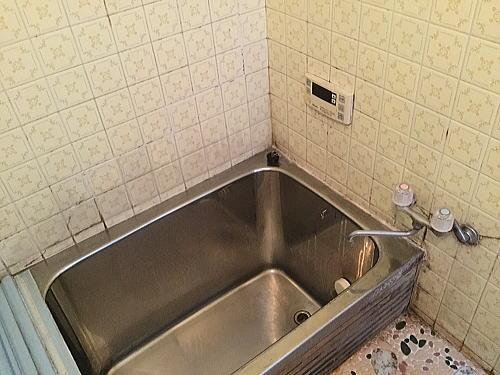 浴室リフォーム福岡市東区施工前1