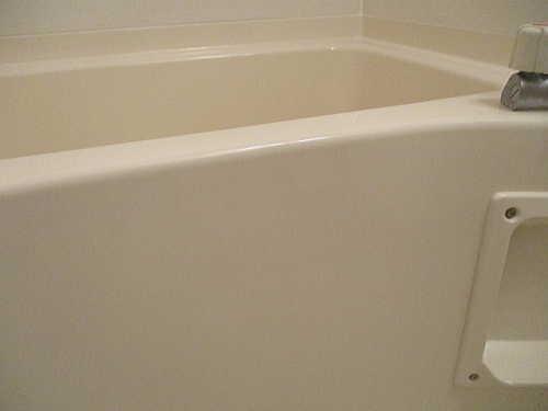 アパートユニットバス浴槽ひび割れリフォーム鹿児島市施工後1