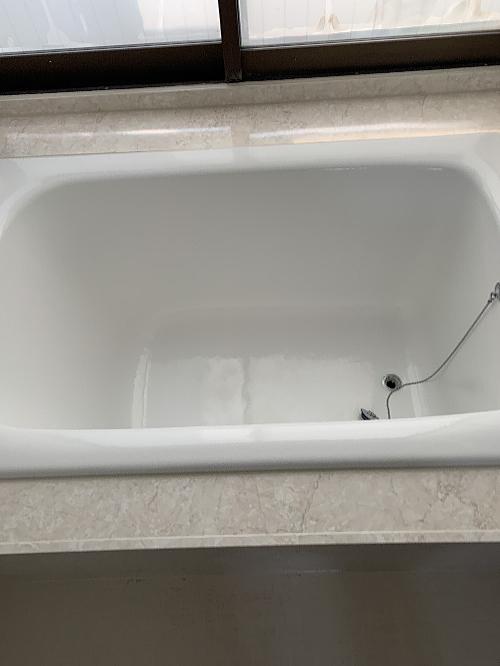 アパート浴槽ホーローリフォーム大分県別府市施工後1