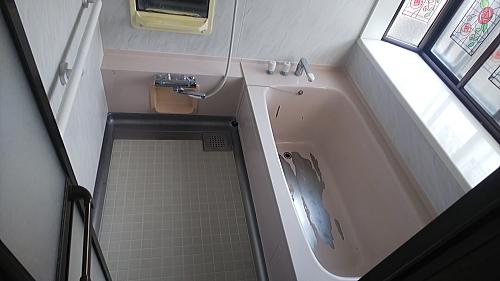 ステンレス浴槽塗装リフォーム佐賀市
