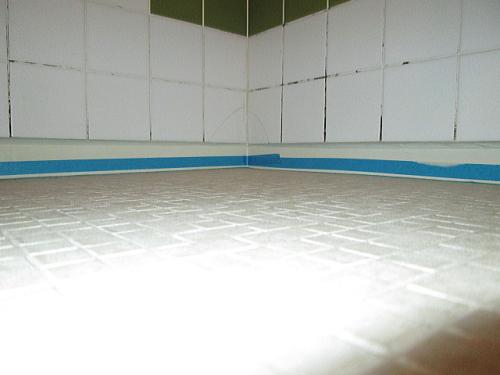 マンションユニットバス床リフォーム福岡市施工後1