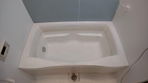 マンションユニットバス浴槽塗装リフォーム佐賀県伊万里市施工前