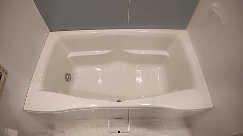 マンションユニットバス浴槽塗装リフォーム佐賀県伊万里市施工後