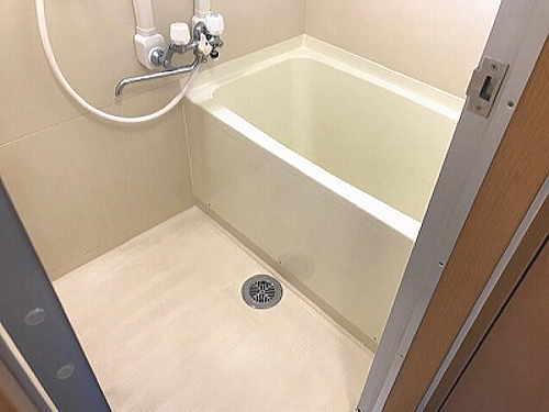 マンションユニットバス浴槽塗装リフォーム長崎市施工後1