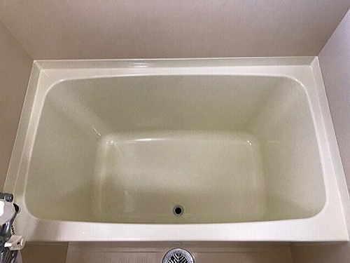 マンションユニットバス浴槽塗装リフォーム長崎市施工後2