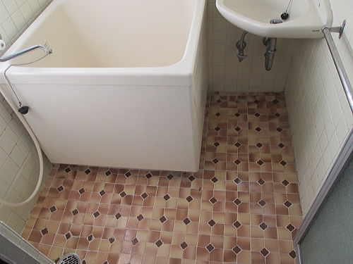 マンション従来浴室リフォーム長崎市施工前2