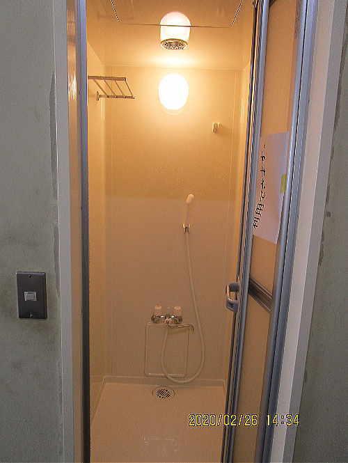 工場シャワー室ユニット型リフォーム福岡市施工後1