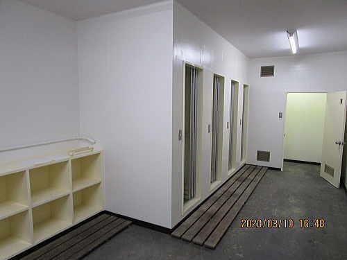 工場シャワー室ユニット型リフォーム福岡市施工後4