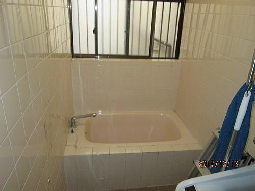 戸建て浴室リフォーム長崎市施工前1