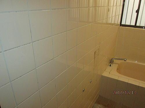 戸建て浴室リフォーム長崎市施工前2