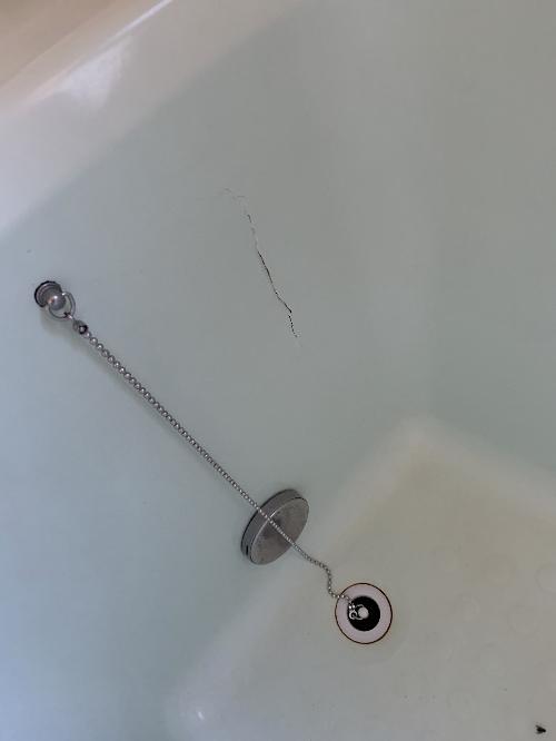 戸建ユニットバス浴槽ひび割れリフォーム大分県臼杵市施工前1