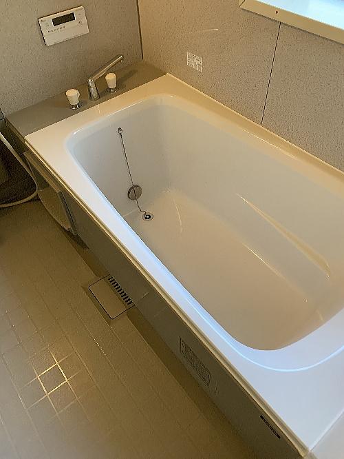 戸建ユニットバス浴槽ひび割れリフォーム大分県臼杵市施工後2