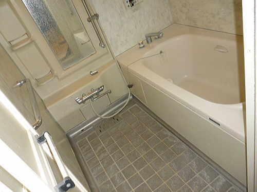 戸建中古物件浴室リフォーム熊本市施工前1
