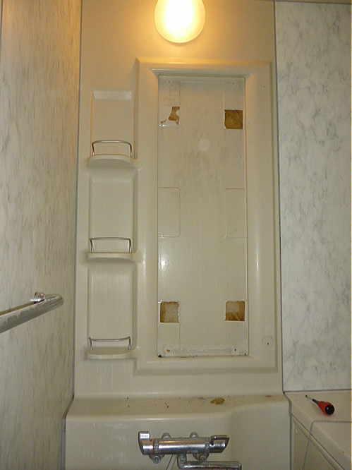 戸建中古物件浴室リフォーム熊本市施工前3