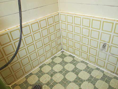 戸建従来浴室タイルリフォーム長崎市施工前2
