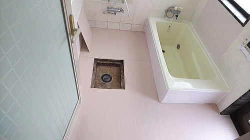 戸建従来浴室リフォーム佐賀県唐津市施工後