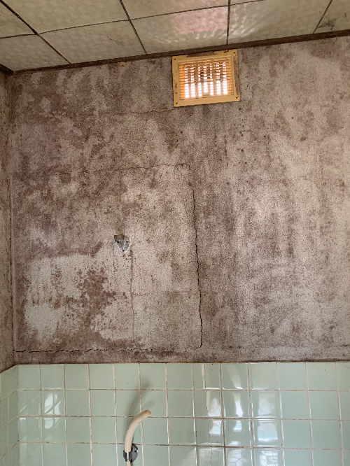戸建従来浴室リフォーム大分県佐伯市