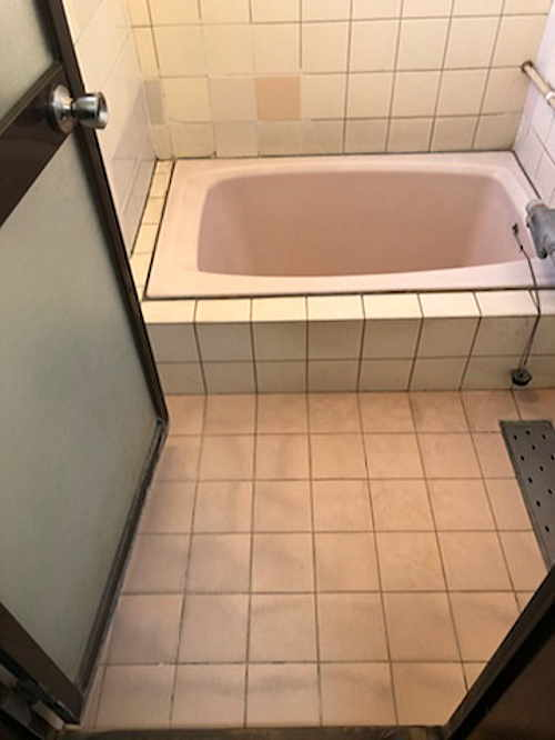 戸建従来浴室リフォーム熊本市
