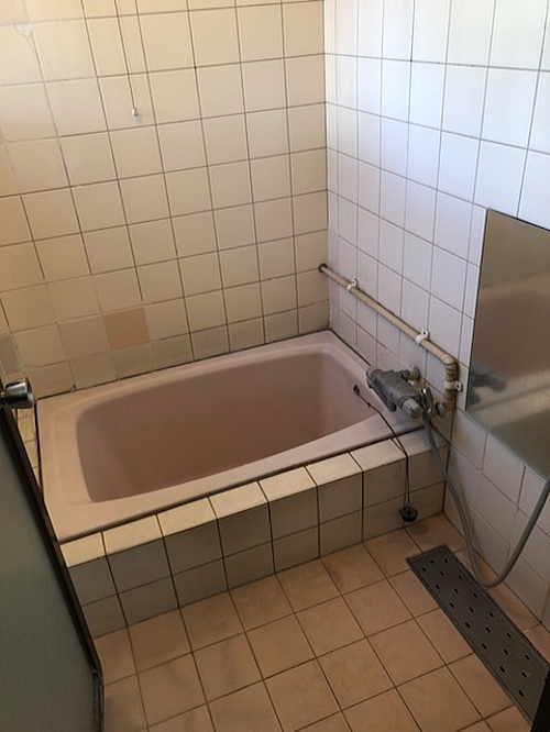 戸建従来浴室リフォーム熊本市施工前2
