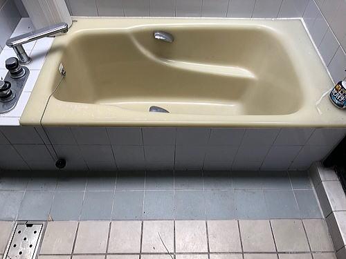 戸建従来浴室リフォーム福岡市南区施工前2