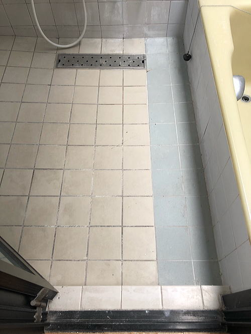 戸建従来浴室リフォーム福岡市南区施工前3