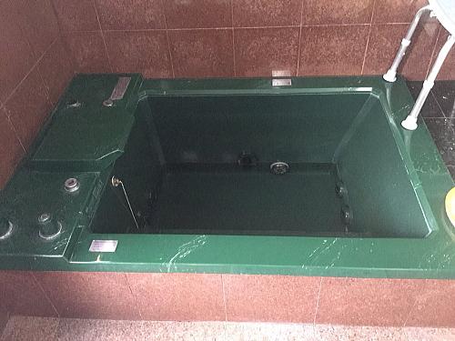 戸建従来浴室リフォーム福岡市城南区施行前1