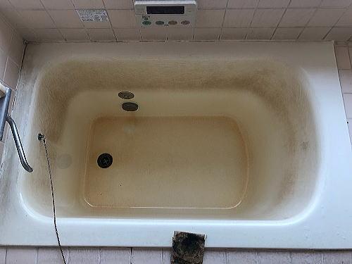 戸建従来浴室リフォーム福岡県うきは市施工前2