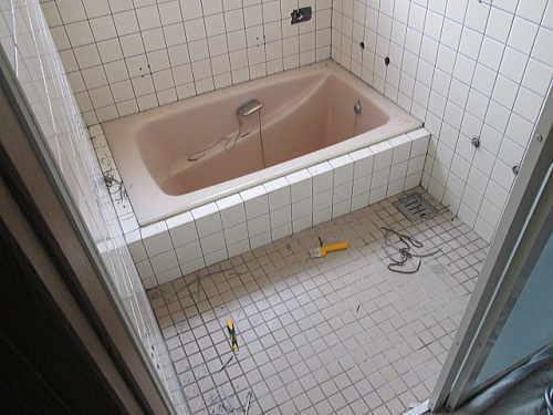 戸建従来浴室リフォーム福岡県北九州市