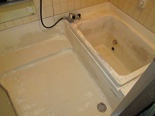 戸建従来浴室リフォーム長崎市施工前1