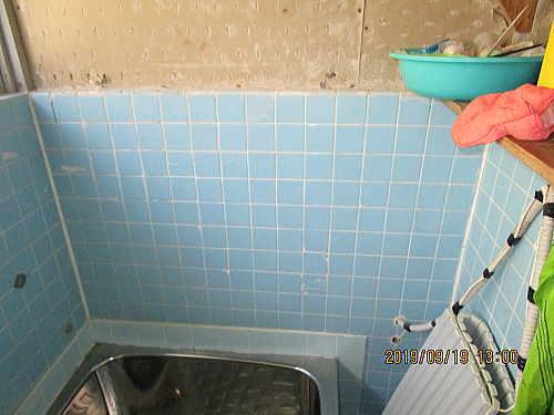 戸建従来浴室リフォーム長崎市施工前3