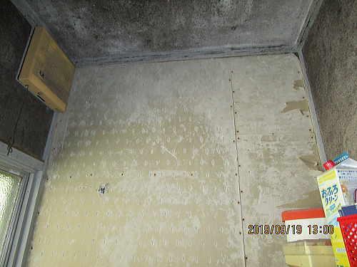戸建従来浴室リフォーム長崎市施工前4