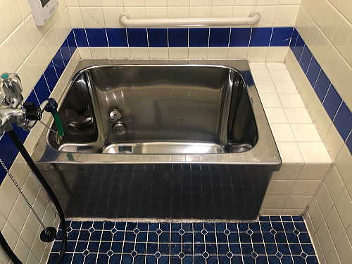 戸建従来浴室リフォーム長崎県佐世保市施工前3